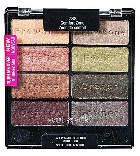 N Au Naturel 10 Pan Eyeshadow Palette 753a Bnb n color icon palette comfort zone reviews
