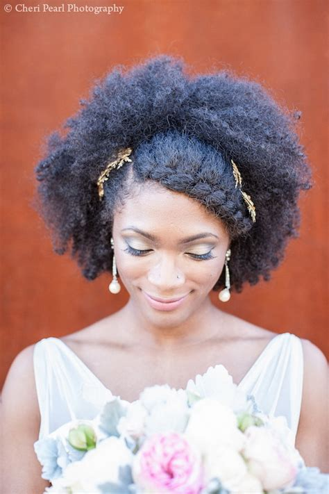 kinky bridal hair styles 11 brides who proof afro is beautiful south african