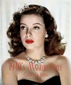 hairstyles to make 40 look 1940s makeup styles vintage makeup guide