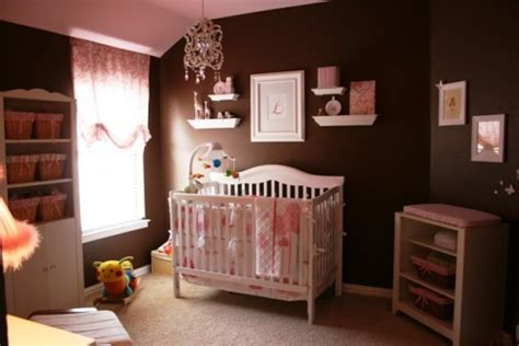 pink and brown baby room cute and sweet baby girl bedroom themes homesfeed