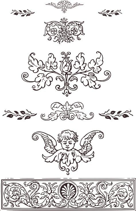 free printable vintage ornaments royalty free images vintage decorative ornaments clip