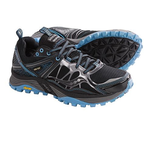 waterproof trail running shoes womens saucony xodus 3 0 tex 174 trail running shoes