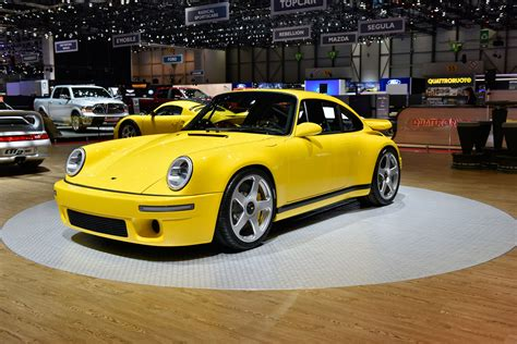 porsche ruf ruf ctr yellow bird makes geneva with 700bhp evo
