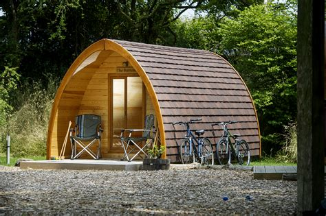 glamping in devon england quarry pods luxury camping