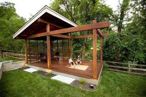Backyard Sandbox Outdoor Living Symmes Modern Porch Cincinnati By