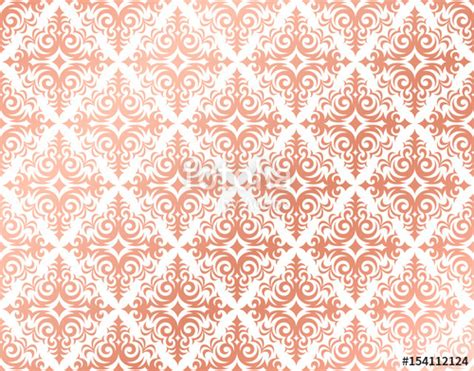 rose gold pattern wallpaper quot rose gold background in a damask pattern design pink and