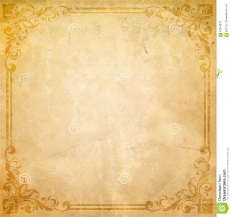 dirty vintage paper background powerpoint designs old paper background with old fashioned border stock