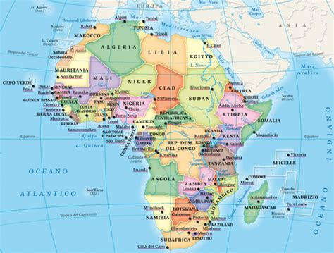 map of europe and africa with countries how many countries are in africa