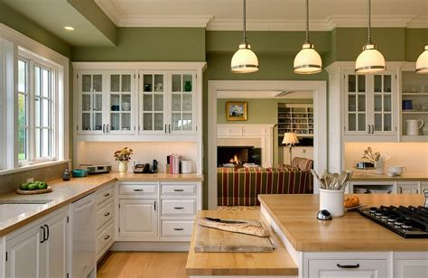 Kitchen Hood Designs Silestone Absolute Green Kitchen Traditional With Lighting