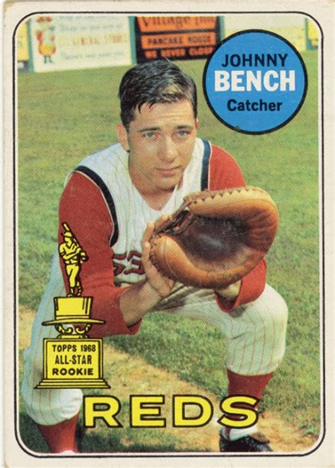 who did johnny bench play for can t have too many cards mister baseball