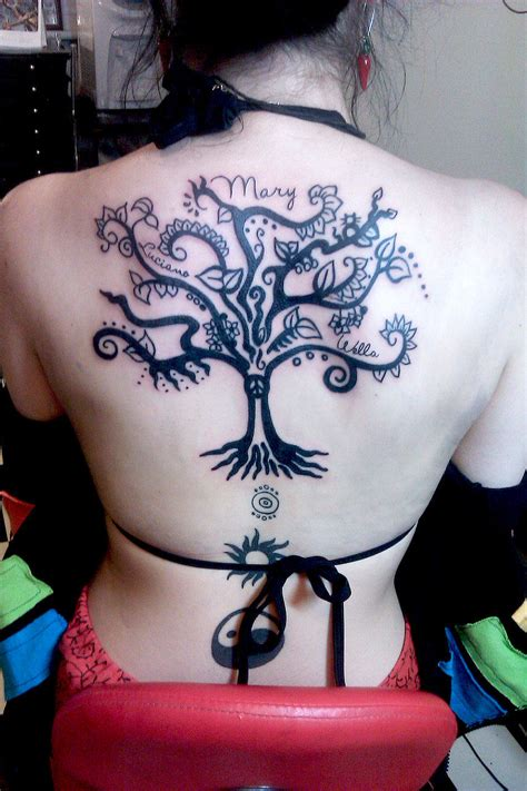 descendents tattoo tree tattoos designs ideas and meaning tattoos for you