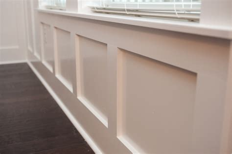 Modern Trim Molding by Wainscoting Gloger Construction