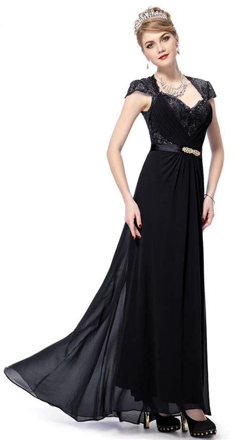diana maxy dress original pu bnwt diana black lace length maxi evening