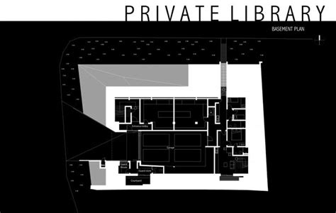 basement library design library house unit one design basement plan