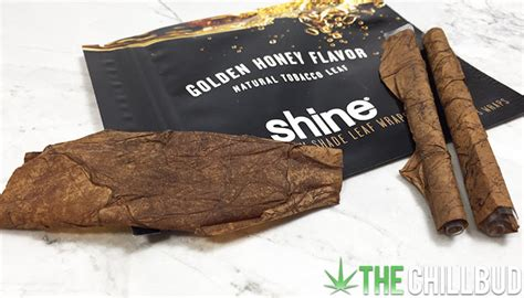How To Make A Blunt Out Of Paper - product review shine premium shade leaf wraps the chill bud