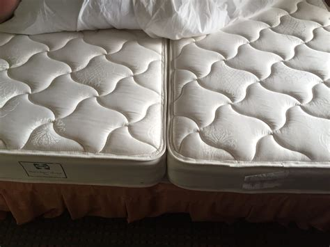 putting two twin beds together king size mattress no two twin mattresses put together