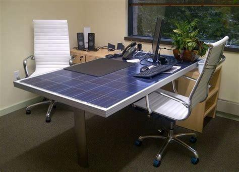 Solar Desk by Solar Panel Desk Solar Products I