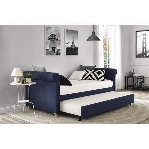 Daybed With Trundle by Darby Home Co Sipple Daybed With Trundle Reviews Wayfair