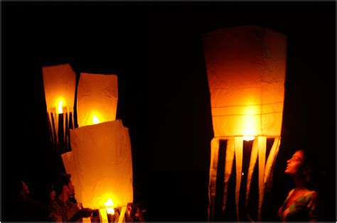 Diy Lantern Lights How To Make Sky Lanterns Aditiodyssey