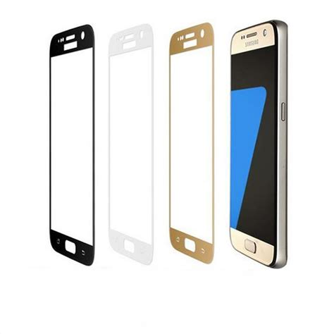 Tempered Glass Color Cover Tempered Glass Color Samsung J3 3d curved cover coverage surface screen protector guard tempered glass protective for