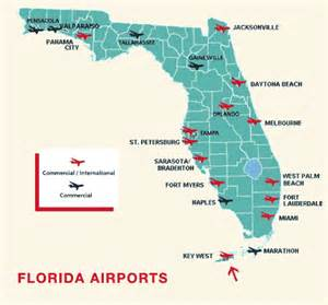 florida map with cities and airports key west international airport terminal information