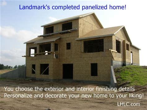 panelized homes landmark home and land company