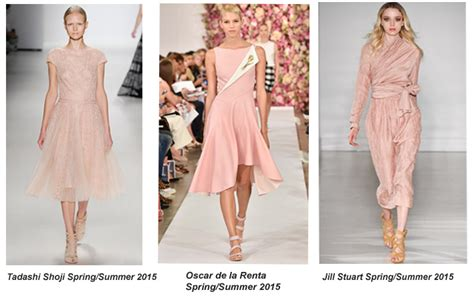 Summer 08 Trends On The Catwalk by Try The Pale Pink Trend From The Summer 2015