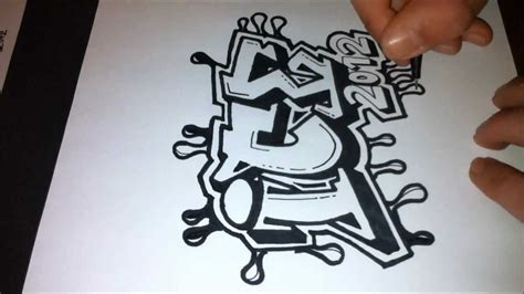 drawing graffiti letters ice  hq youtube