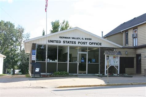 Valley Post Office by File German Valley Il Post Office Jpg Wikimedia Commons