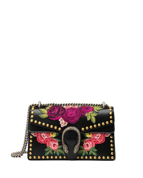 Gucci Floral White Pattern 2017 gucci summer 2017 bag collection spotted fashion