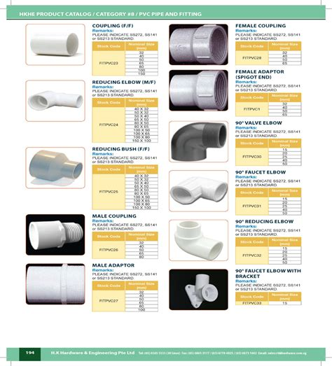 pvc pipe fittings catalog images