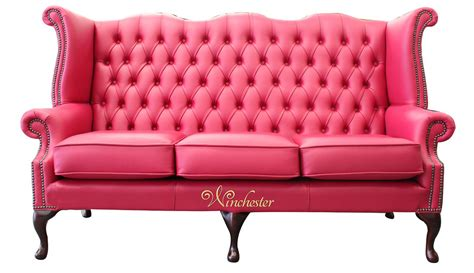 traditional fabric high back sofas chesterfield 3 seater queen anne high back wing sofa