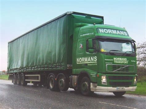 used volvo lorries truck photos volvo fh12 460 lorry of normans transport