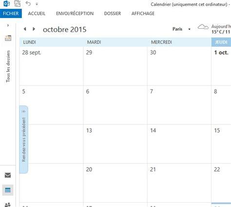 Calendrier Outlook 2013 Ajouter Un Calendrier Agenda En Lecture Seule Sur
