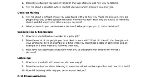security officer questions exles security