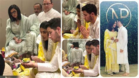 priyanka chopra engagement dance videos watch first official wedding pics videos from priyanka