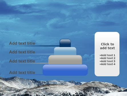 33801 04123 Business Card Template by Snowy Mountains Powerpoint Template Backgrounds 04123