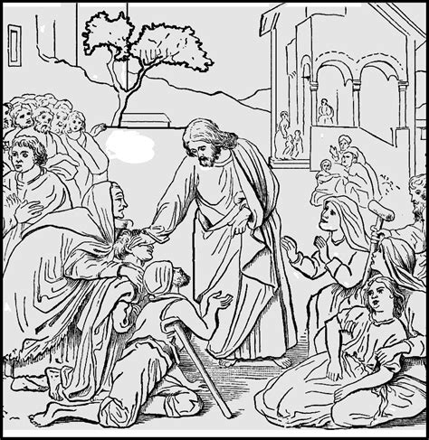 free coloring pages of healing of naaman