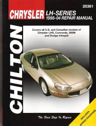 old car owners manuals 2004 dodge intrepid head up display 1998 2004 chrysler lhs concorde 300m intrepid chilton total car care manual