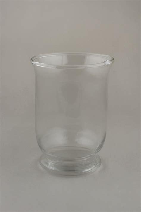 Glass Hurricane Vase by Glass Hurricane Vase Candleholder