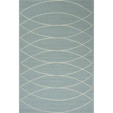6x9 Outdoor Rug Jaipur Indoor Outdoor Tribal Pattern Blue Ivory Polypropylene Area Rug 7 6x9 6