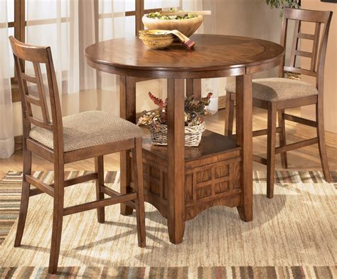 oval dining room set cross island oval counter height extendable dining room