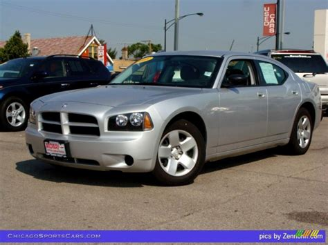 2008 silver dodge charger 2008 dodge charger se in bright silver metallic 101737