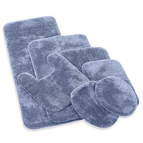 Contour Bath Rug Buy Wamsutta 174 Duet Contour Bath Rug In Slate From Bed Bath Beyond