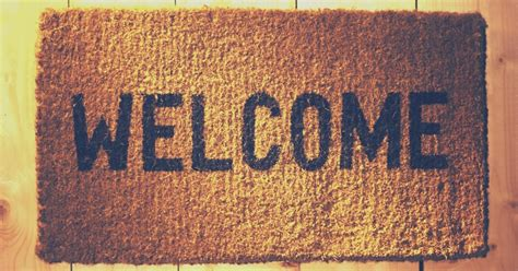 Welcome Mat Home Worship Series The Hospitality Of Jesus