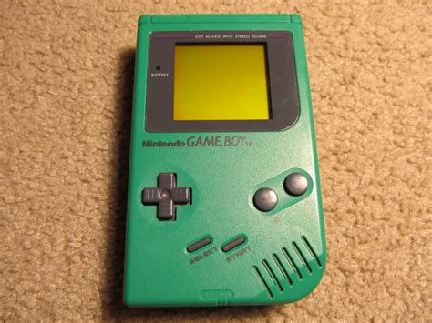 gameboy color value boy original green tradenow gr