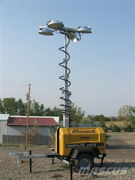 Allmand Light Tower by Allmand Bros Lite Pro V Light Towers Year Of Mnftr