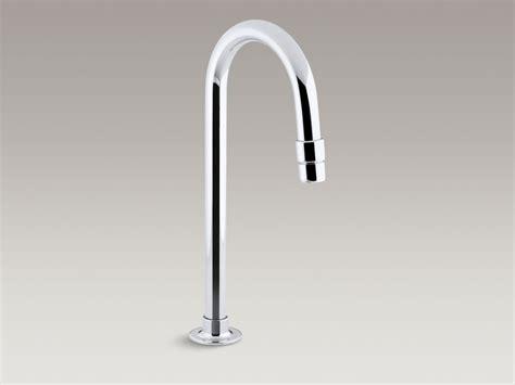 kohler touchless gooseneck deck mounted with temperature standard plumbing supply product kohler k 13770 cp