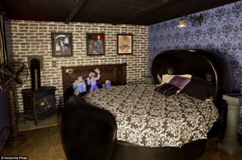 haunted mansion bedroom would you be brave enough to stay in this wacky