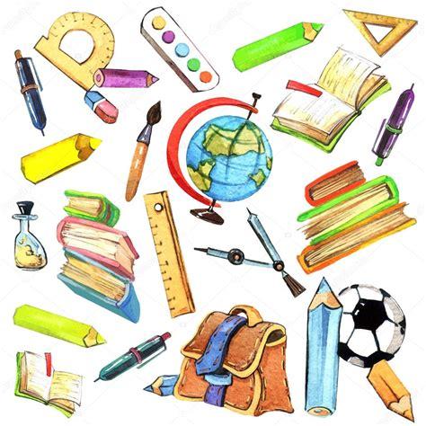 imagenes de objetos de utiles escolares kids school background stock photo 169 dobrynina art 72070403